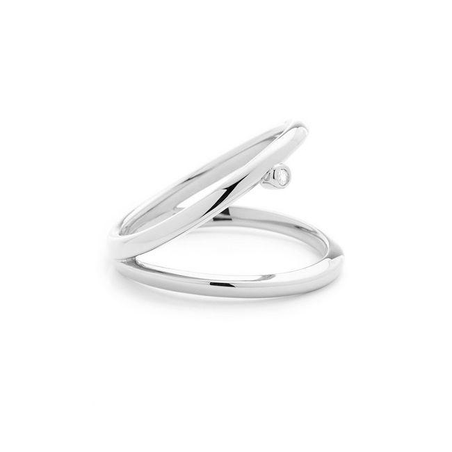 Double Grace Ring Silver