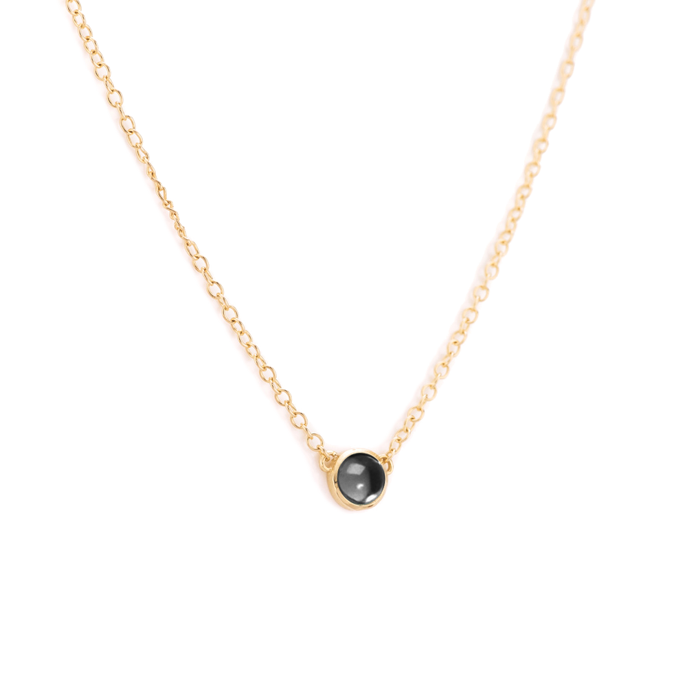 Hematite Pop Necklace
