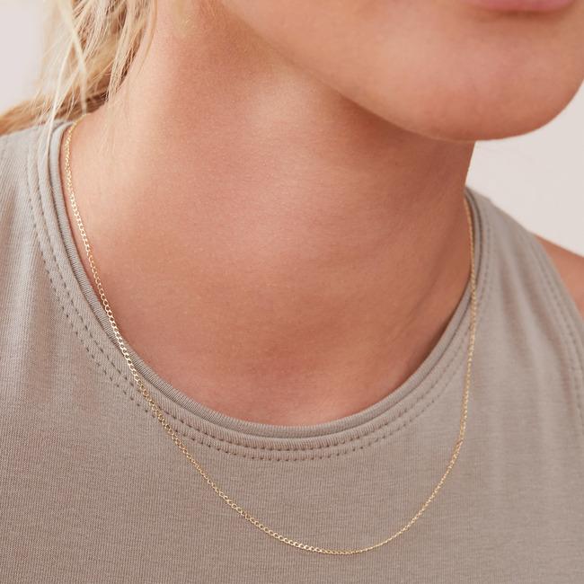 Thin Curb Chain