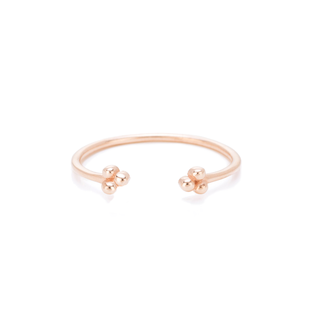 Petite Open Ring Rose Gold