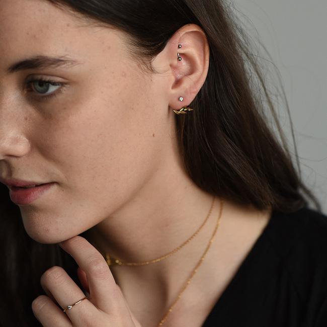 6db535053 Olive Leaf Ear Jackets Olive Leaf Ear Jackets