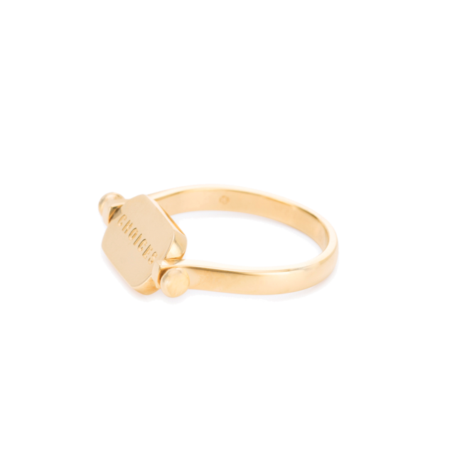 Choices flip ring