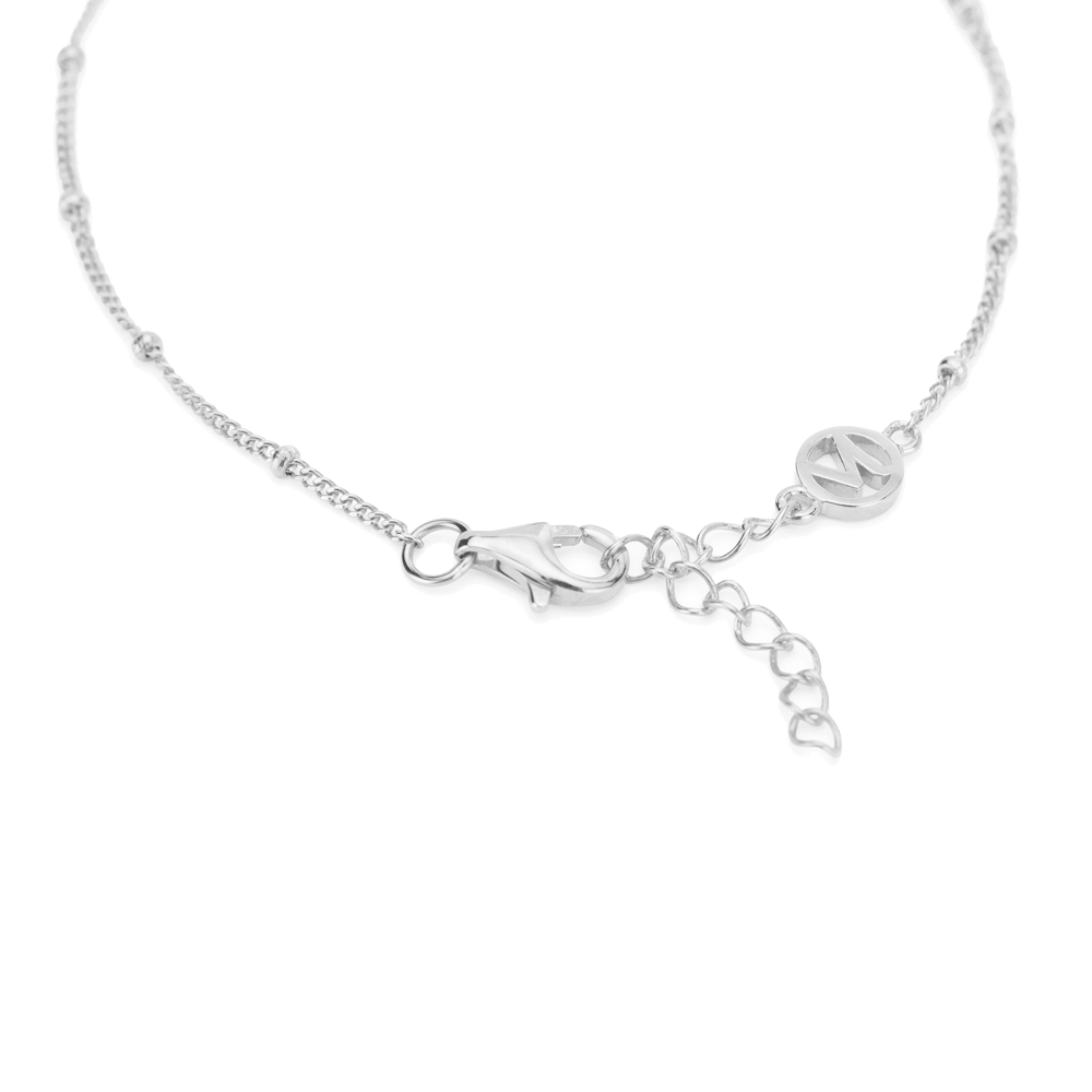 Choices bar bracelet silver