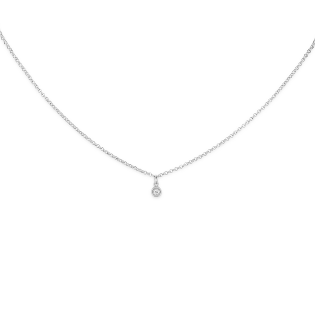 Unique sterling silver or gold pendants and necklaces mejuri sapphire choker silver sapphire choker silver aloadofball Choice Image