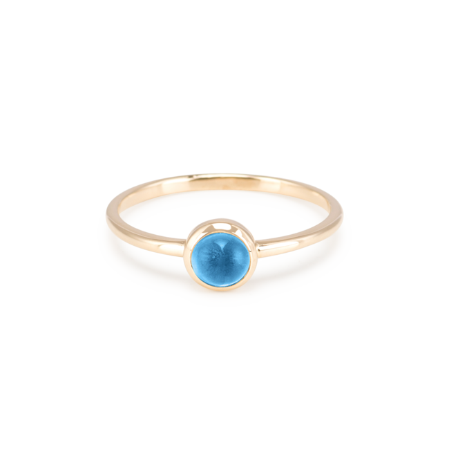 Blue Topaz Pop Ring