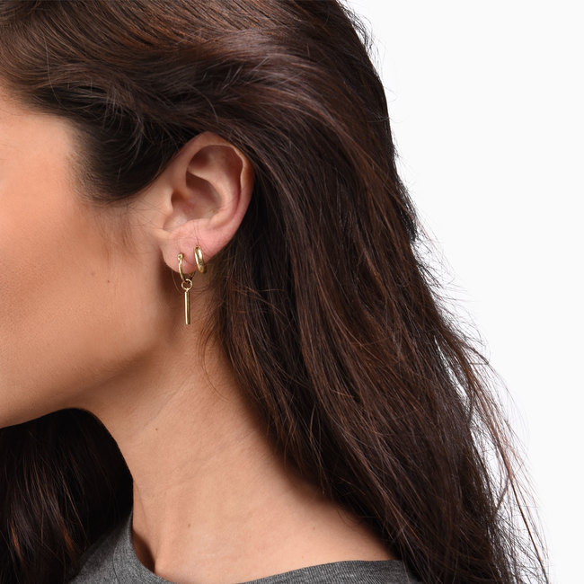 Balance Hoop Earrings