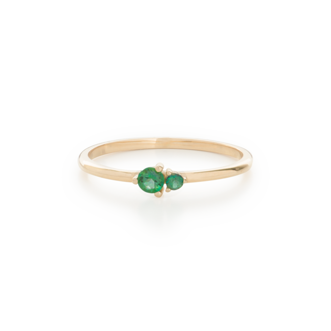 Hue Ring Green Topaz