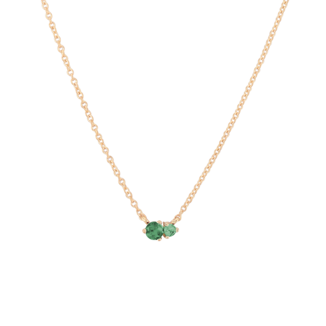 Hue Necklace Green Topaz