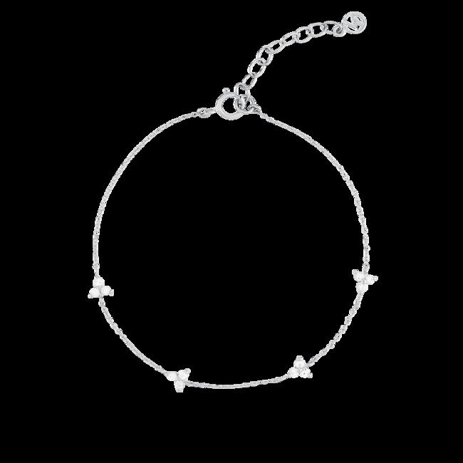 Mini Lotus Bracelet Silver