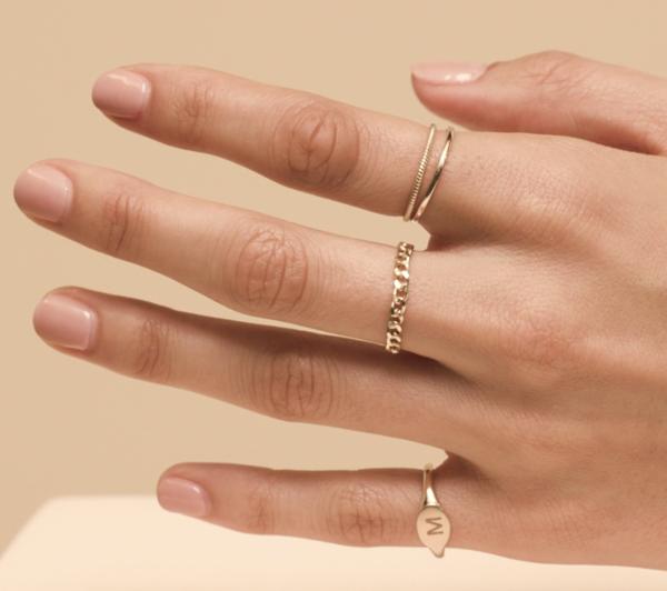 Thin Chain Ring Mejuri